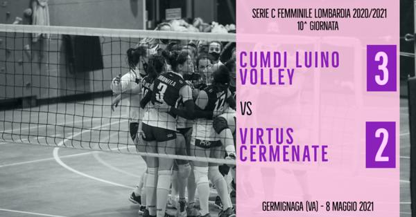 LOM-Cf: 10^ Cumdi Luino Volley - Virtus Cermenate