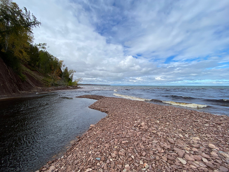 The Mouth of the Montreal River, Lake Superior