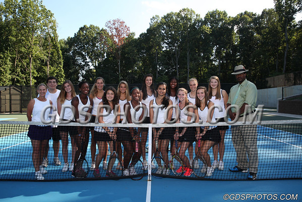 VARSITY GIRLS TENNIS 2013