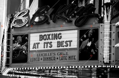 2010 Boxing - New York Allstars vs British National Team