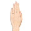 1.31tcw Round Brilliant Diamond Wedding Set, Est to be H, SI2      3
