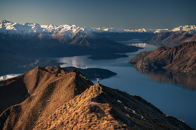 Roys Peak Trek & Sunset Photoshoot
