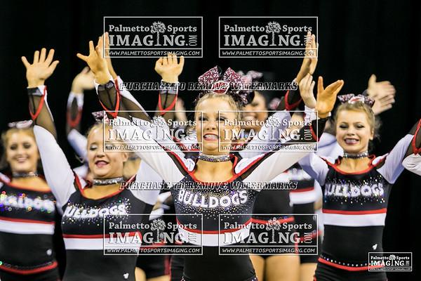 Boiling Springs High School State Cheer 2018