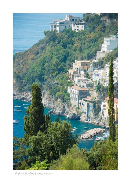 Conca dei Marini, Amalfi Coast, Italy