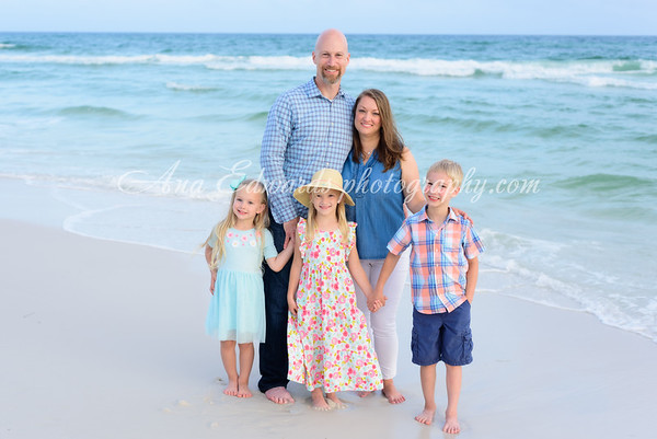 The Weikel family  |  Seagrove Beach
