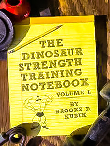 The Dinosaur Strength Training Notebook