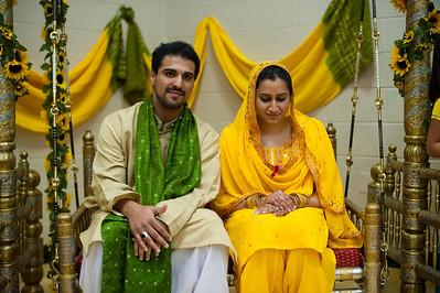 Hamida & Zaiem Mehndi