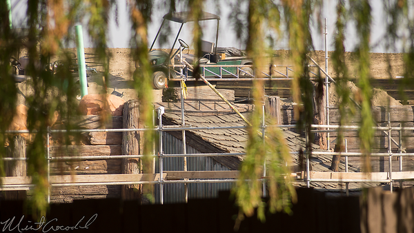 Disneyland Resort, Disneyland, Frontierland, Star Wars Land, Star Wars, Trail, Jamboree, Construction