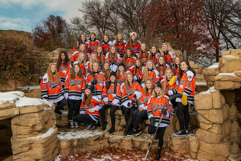 2018/19 White Bear Lake Girls Varsity Hockey