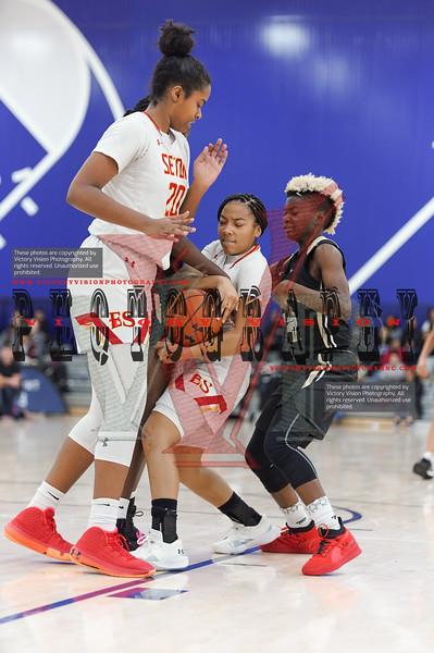 Elizabeth Seton (MD) Girls Varsity Basketball 12-13-19 | She Got Game