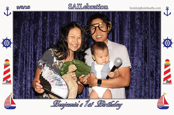 Benjamins 1st birthday
