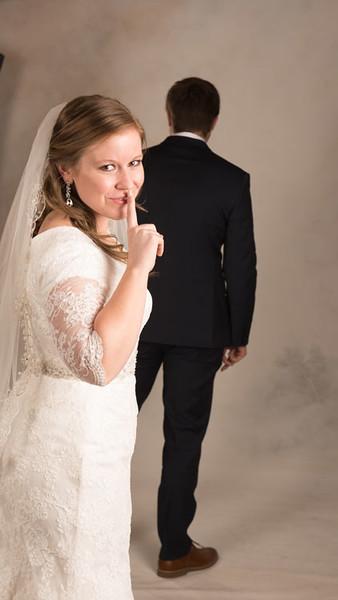 Amie & Mack - bride and Groom