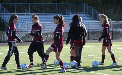 Varsity Girls Soccer vs Immaculate - 10/13/2012