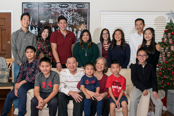 Christmas 2017 Ho Family