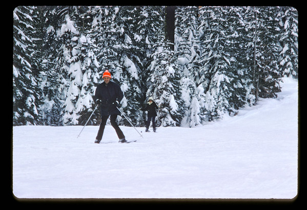 Snow Skiing in Yosemite 1971