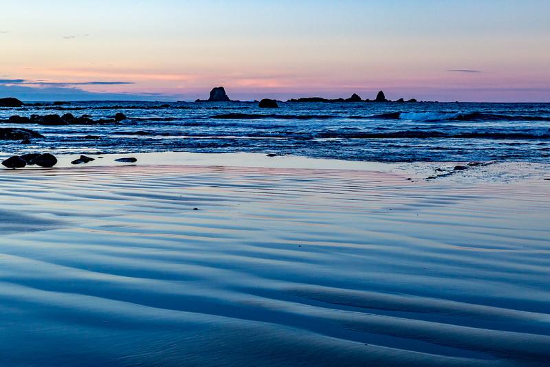 «Cape Foulwind»: blaue Stunde
