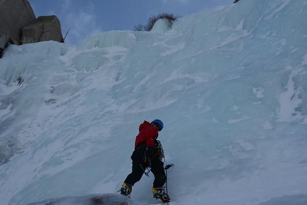 Ice Climbing January 20, 2016