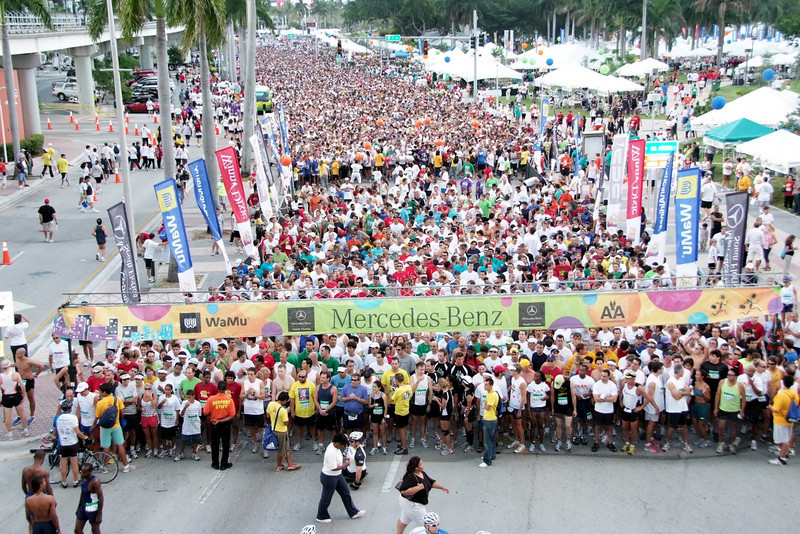 2008 Miami Mercedes-Benz Corporate Run by Steckly