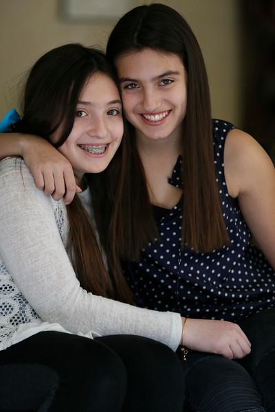 Alexa and Sophia
