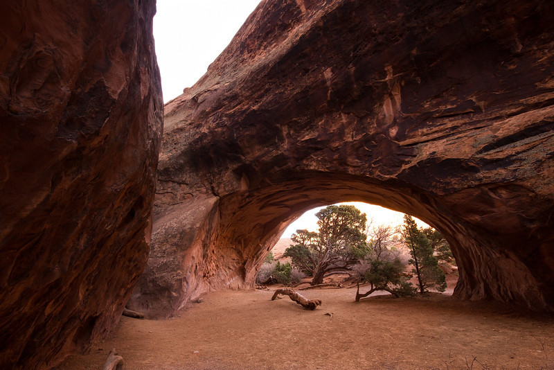 Taken from the cove inside Navaho Arch.
