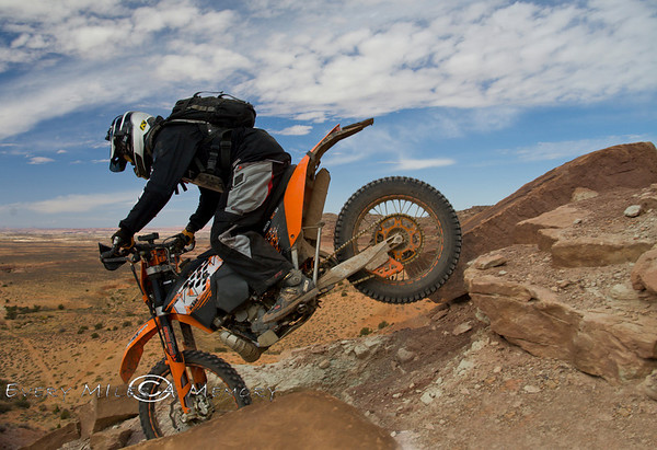 Riding in Moab with DualSport Utah