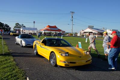 2010 Corvettes @ Carlisle NCCC