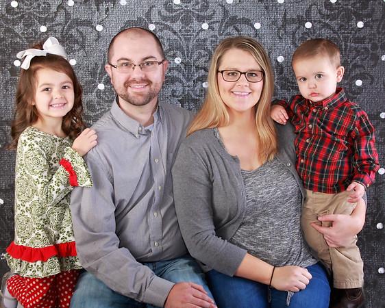 Brown Family Christmas and Milestones