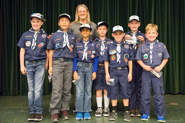2017 Pack 12 Scouts Awards Ceremony