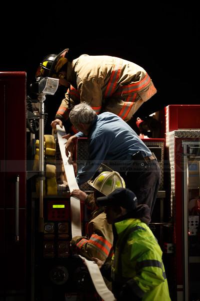 Lebanon Volunteer Fire Department Hoses/Appliances/Deck Gun training