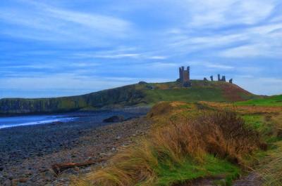 002 - Dunstanburgh Castle, Northumberland, UK- 2014.