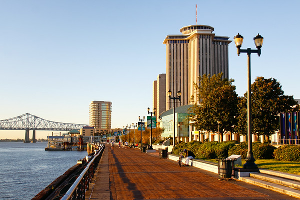 New Orleans Morning Waterfront