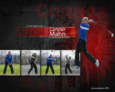 Boys Golf Collages