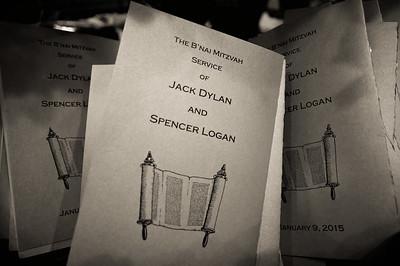 Jack & Spencer's B'Nai Mitzvah
