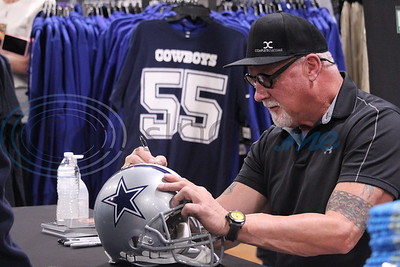 Dick's Sporting Goods Hosts Randy White At Tyler Grand Opening- Super Bowl MVP & Dallas Dallas Cowboys Legend by John Anderson