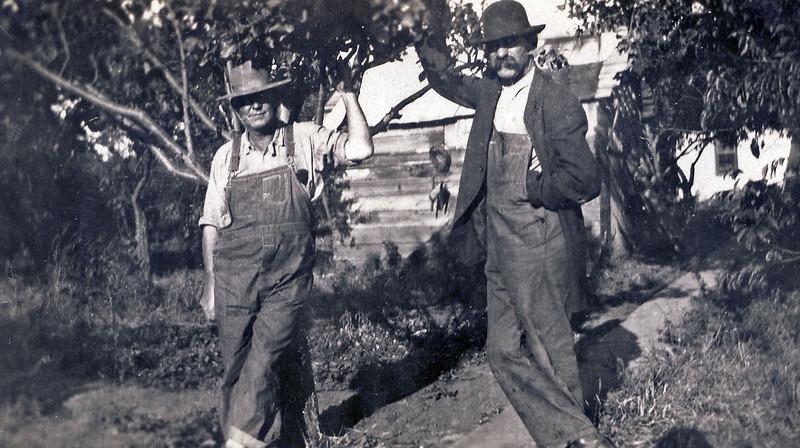 John Crimmina and Walt Wilcox in Flandreau, SD