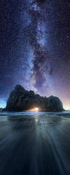Landscape Photography at Pfeiffer Beach in California