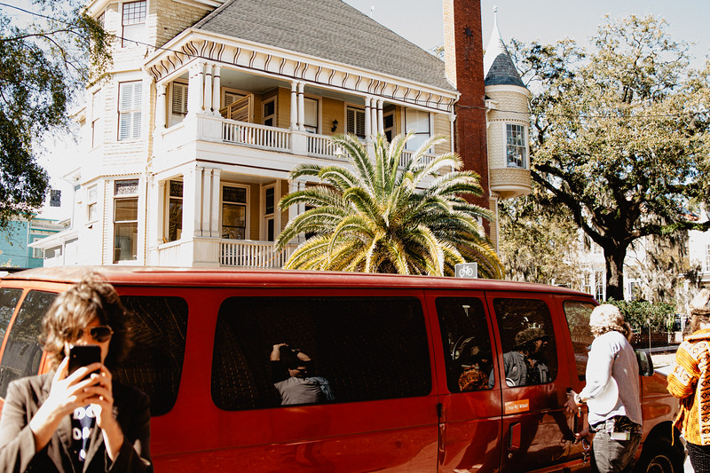 Palm Palm, tour, Savannah GA