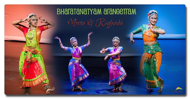 Meera & Rughveda's Bharatanatyam Arangetram 2019