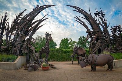 Animals Always Sculpture at Saint Louis Zoo