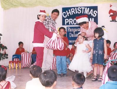 Christmas Outreach Program SY 2001-2002