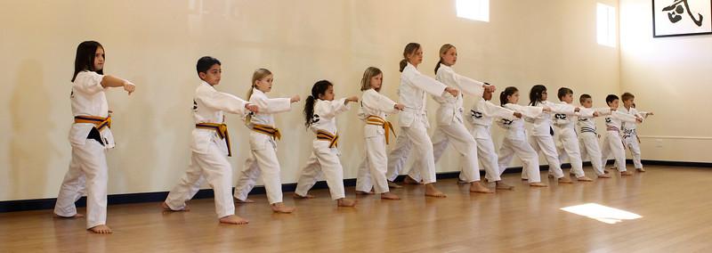 Gup Shim Sa #30: December 2011 Belt Test