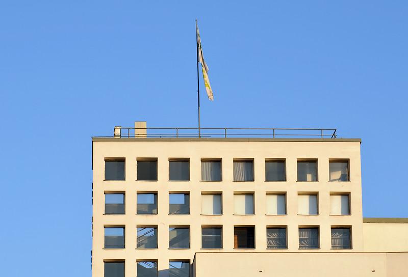 Functionalist Building of Stadtwerke Graz (Austria)