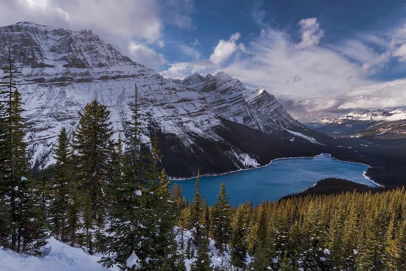Peyto Lake, Banff National Park. Alberta, Canada.