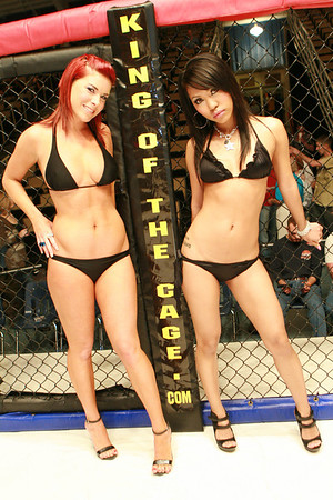 The Ring Card Girls.... February 21, 2009
