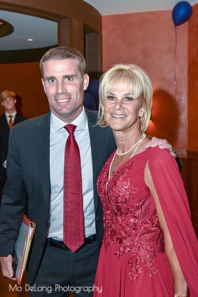 Senator Mike McGuire and Kathleen Woodcock