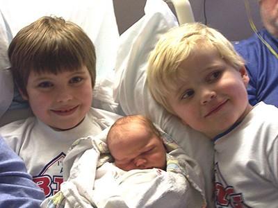Jan. '05: Baby Max is born!