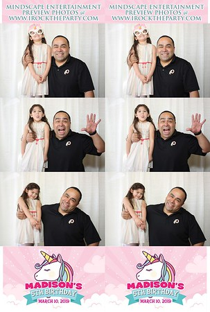 Madison's 5th Birthday-Photo Booth Pictures