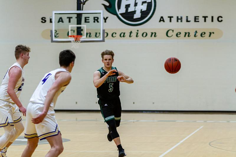 Holy Family Boys Varsity Basketball vs. Waconia - Collin Nawrocki/The Phoenix