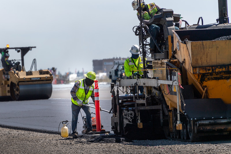 Runway Reconstruct - Grant County Airport - Moses Lake Washington - 2020