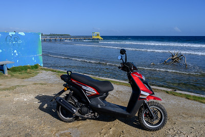 Around the Island - on a Scooter